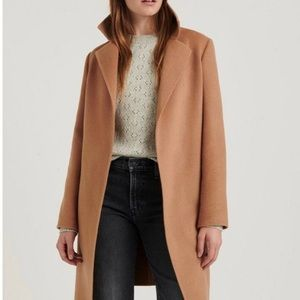 Lucky Brand Wool Wrap Coat